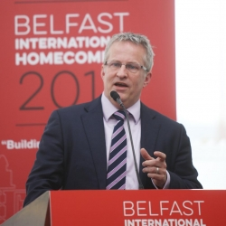 Belfast Homecoming 2017, The Drawing offices, Titanic Hotel. Paddy Nixon