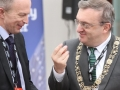 Belfast Homecoming 2017, The Drawing offices, Titanic Hotel. Mayor of Dublin Micheal Mac Donncha with