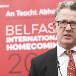 Belfast Homecoming 2017, The Drawing offices, Titanic Hotel. Paul McErlean