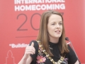 Belfast Homecoming 2017, The Drawing offices, Titanic Hotel. Belfast Mayor Cllr Nuala McAllister