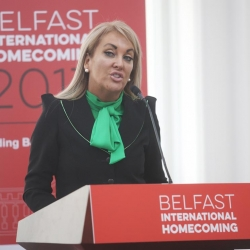 Belfast Homecoming 2017, The Drawing offices, Titanic Hotel. Marie Macklin