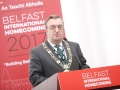 Belfast Homecoming 2017, The Drawing offices, Titanic Hotel. Mayor of Dublin Micheal Mac Donncha