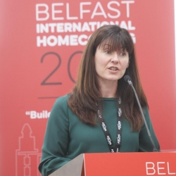 Belfast Homecoming 2017, The Drawing offices, Titanic Hotel. Kerrie Sweeney