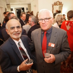 Belfast Homecoming 2017, Reception with US Consul General Dan Lawton, Lord Diljit Rana and Tom Ekin