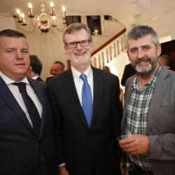 Belfast Homecoming 2017, Reception with US Consul General Dan Lawton, Niall Murphy and Prof Mark McGovern
