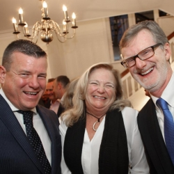 Belfast Homecoming 2017, Reception with US Consul General Dan Lawton, Niall Murphy and