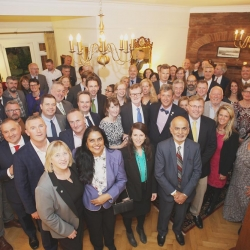 Belfast Homecoming 2017, Reception with US Consul General Dan Lawton