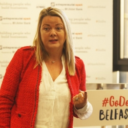 Ulster Bank Breakfast and Discussion workshop Belfast International Homecoming 2017 Christine Boyle