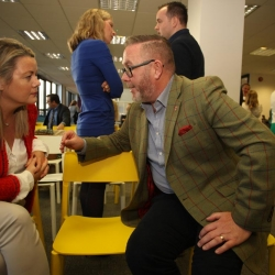 Ulster Bank Breakfast and Discussion workshop Belfast International Homecoming 2017