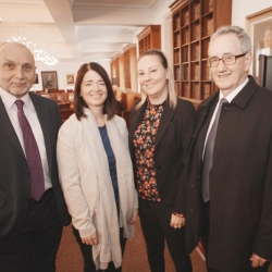 Legal Symposium, Belfast International Homecoming 2017, Bronnyn McGahan and Claire Canaan with Michael Culbert and Sean Murray